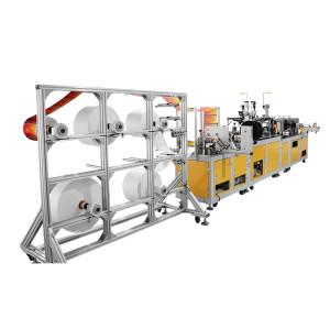 Fully automatic positioning KN95 mask machine 21 servo motros