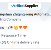 Congratulations for successfully passing the third-party TUV inspection and obtaining the verified Supplier label