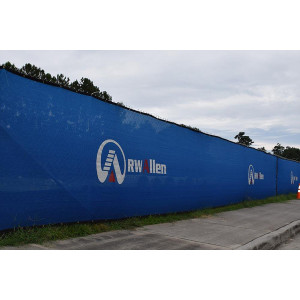 Custom Printed Fence Wraps|Printed Mesh Banners