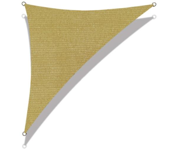 Velas de sombra comerciales de 95 triángulos rectángulos