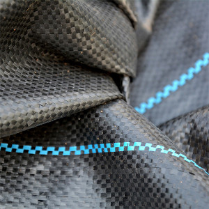 Ground cover fabric with UV stabilized