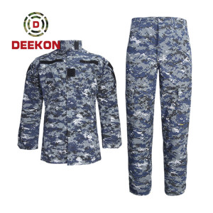 China Military Uniform Factory Digital Camouflage Ripstop Military Uniform for Army