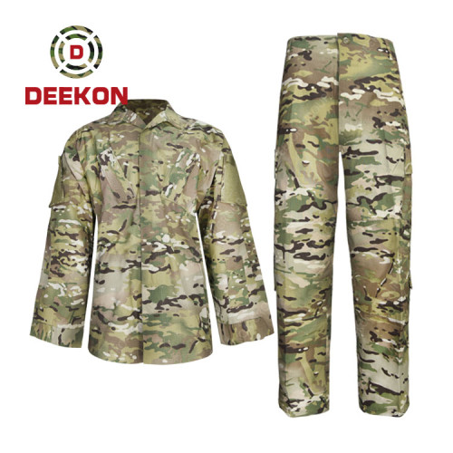 Deekon military clothing factory Multicam Camouflage Military Cothing for soliders