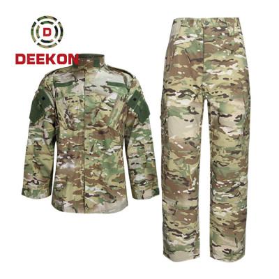 China Deekon Factory High Quality Angola Multicam Camo Uniform T/C 65/35 Military Army Uniforms