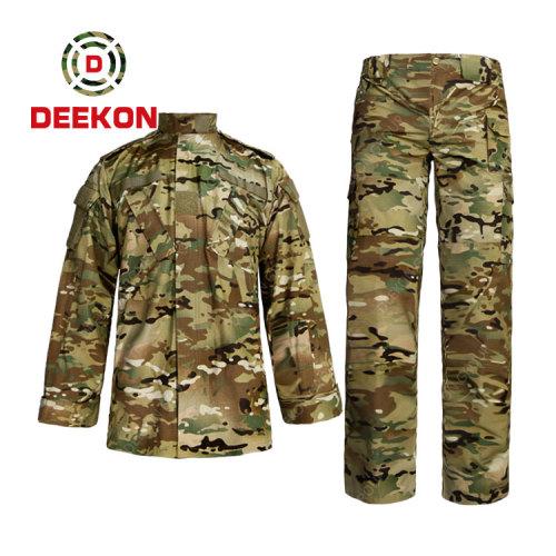 military uniform Factory Supply Multicam Camo CVC 50/50 Military Uniform for Panama