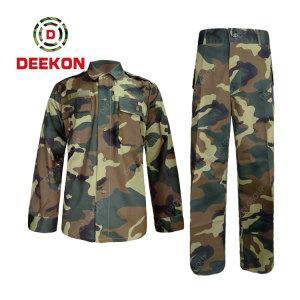 Deekon Factory Supply Woodland Nylon Cotton Camouflage Military Clothing