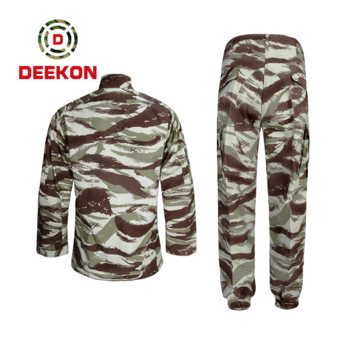 Deekon Supply Tender Specification Military Army Used Camouflage Uniforms for Soliders