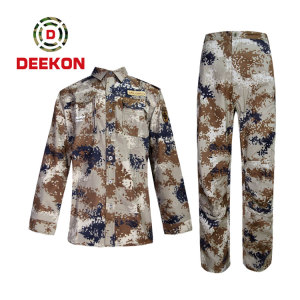 China Manufacture Digital Camouflage Tactical suit for army using