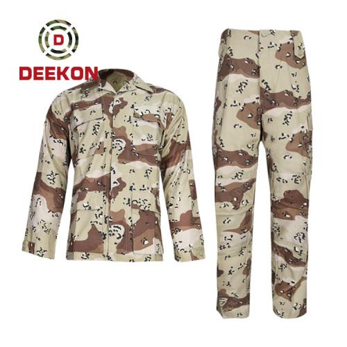 Best America 6 colour Desert Camo Pattern Plain Combat Uniform--BDU supply