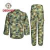 Deekon factory supplyBest Woodland Nigeria Water Resistant Camouflage CVC Military uniforms