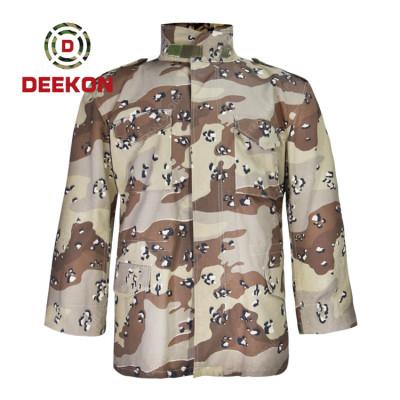 China Supply Saudi Arabia Six Color Desert Camo Battle Dress Uniform shirt