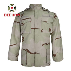 Military Jacket Supply Best quality Desert Camouflage Military M65 Jacket in China