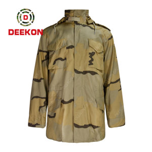 Military Jacket Supply Desert Camouflage Army Combat M-1965 Filed Jacket with Tender Specification