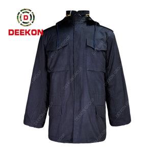 Deekon Military Jacket Factory Supply Dark Blue Color Windproof M-1965 Filed Jacket