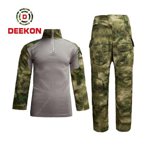 Deekon supply High Quality Ruins Pattern  A-TACS AU Forg Camo Uniform