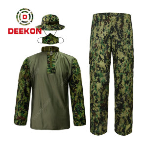 High Quality Philippines Digital Military Camouflage FORG Uniform with Cap factory wholesale