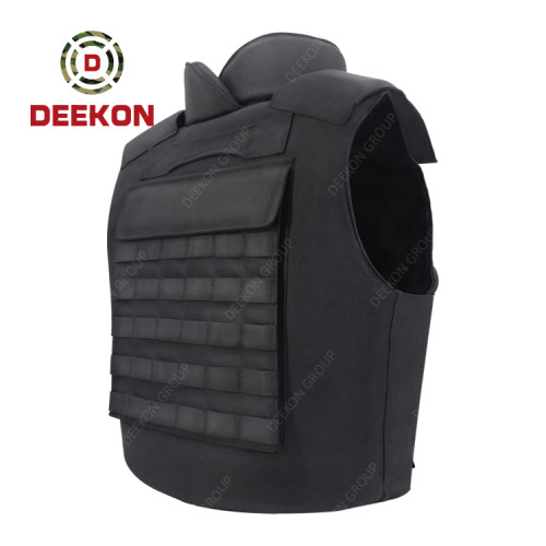 Supplier Affordable Bulletproof Vest with Black Oxford Cloth for Security Guard Law Enforcement