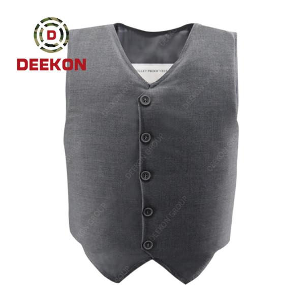Supplier NIJ IIIA Concealed Soft Bulletproof Vest Manufacturer from China