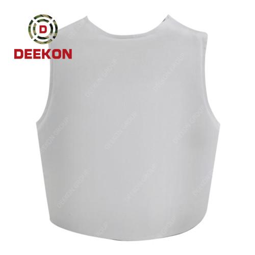 Manufacturer NIJ IIIA Protection Level White Bulletproof Vest Inner Wear Design
