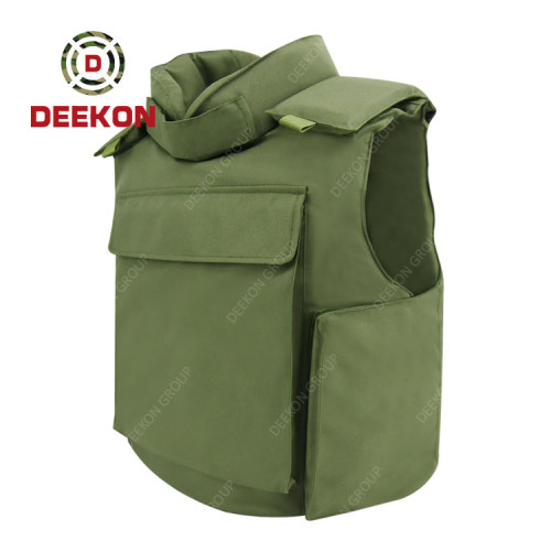 Manufacturer Bullet Proof Jacket Factory Fashion Army Green Body Armor
