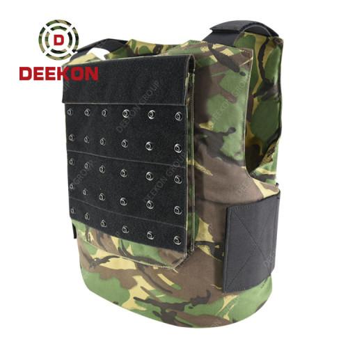 Supplier Bulletproof Vest Body Armor New Design British Tactical NIJ IIIA Camouflage Pattern
