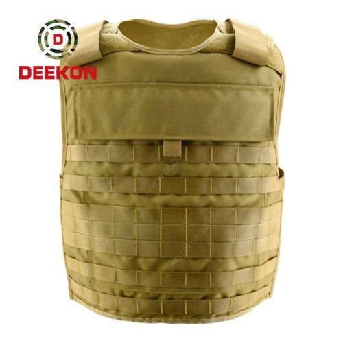 Manufacturer Molle Bulletproof Vest Customized Level 3a Fashion Khaki Combat Body Armor