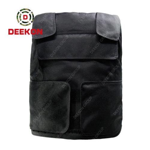 Supplier Black Color NIJ IIIA Indeosia Army Bulletproof Body Armor