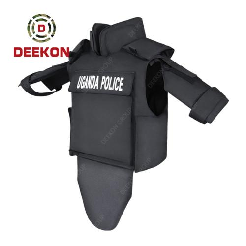 Supplier Bulletproof Vest  Kevlar NIJ IIIA Full Body Armour for Uganda Police