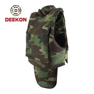 Manufacturer Bulletproof vest Woodland Camouflage for Military Use