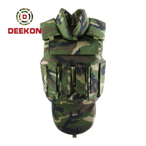 Supplier Bulletproof Vest Tactical Camouflage with Holster