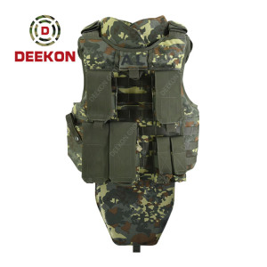 Supplier Bulletproof Vest Provide Level 3 Protection High Quality for Albania Military Use