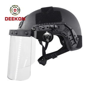 Factory Supply FAST Bulletproof Helmet with Face Shield