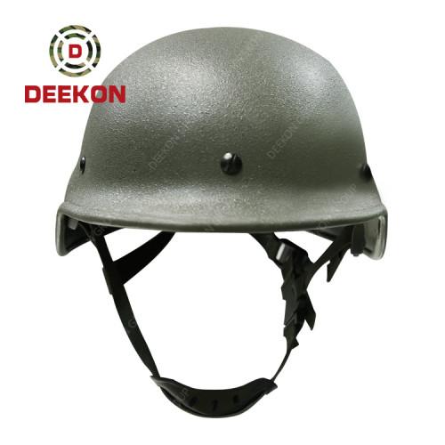 NIJ Standard Steel Helmet Supplier Bulletproof Helmet Resist 9mm Bullet