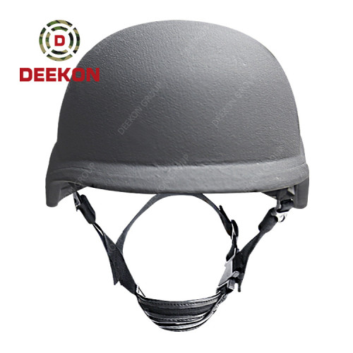 Factory Manufacture Black Color Tactical PASGT Military Bulletproof Helmet for Security
