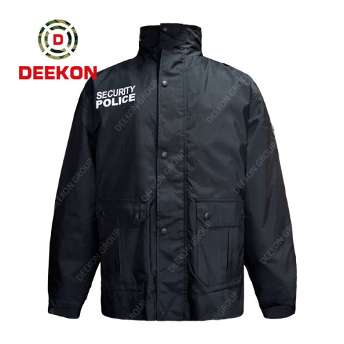 Deekon military uniform Supply New Design Military Windproof Jacket for Security Police