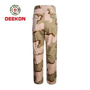 Deekon supply Three Color Desert Camoufalge BDU Uniform Tactical Trousers for Saudi Arabia