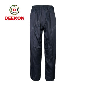 Deekon Manufacture Cotton Blue Cargo Heavy-duty Stretch Ripstop Tactical Military Trousers