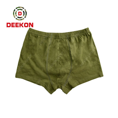 Military Trousers Supply 100% Cotton Underwear Breathable Short Pants Military Trousers for Malawi