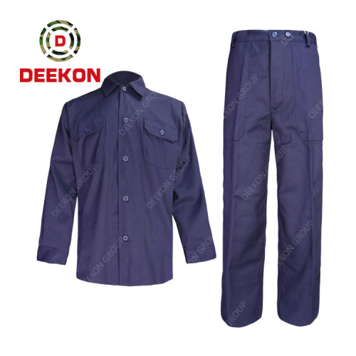 DEEKON factory Army Military 100% Cotton Plain Shirt Combat BDU Style Tactical Shirt