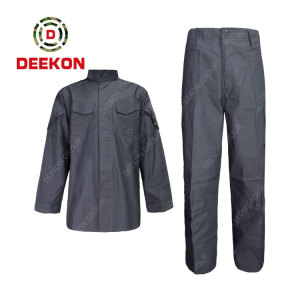 China DEEKON factory supply High Quality 100% Cotton Twill Washed Outdoor Work Shirt for Military Using