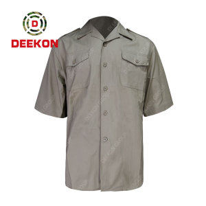 Deekon factory New Style Army Tactical Military Mens Short Sleeve Shirts