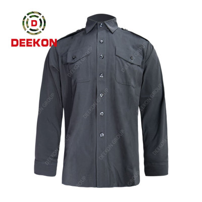 Deekon company manufacture European and American Casual Outdoor Multi-pocket Long-sleeved military Shirts