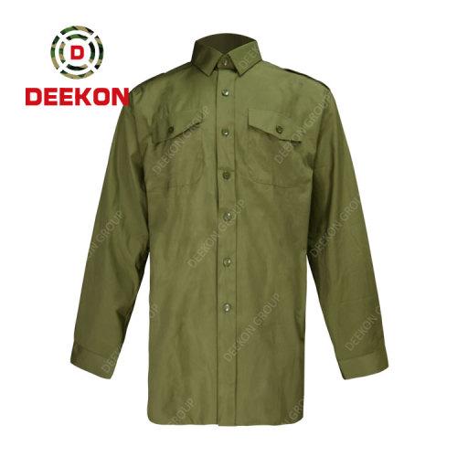 Deekon manufacture Combat Tactical Clothing Military Uniform Button Up Army Shirts