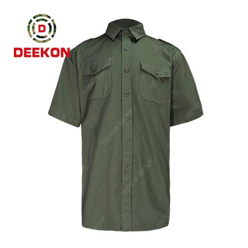 Deekon factory supply OEM Custom Tactical Mens Outdoor Camping Military Combat Suits T Shirt