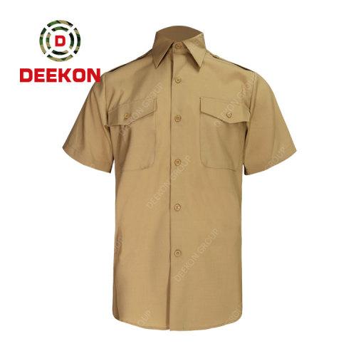 Deekon company supply Panama Uniform Tactical Short Sleeve Quick Drying Breathable Military Outdoor Shirts