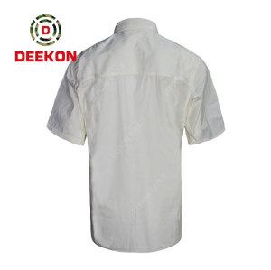 Deekon supply Panama Army Latest Casual Short Sleeve Shirt Offical Military Shirt For Men