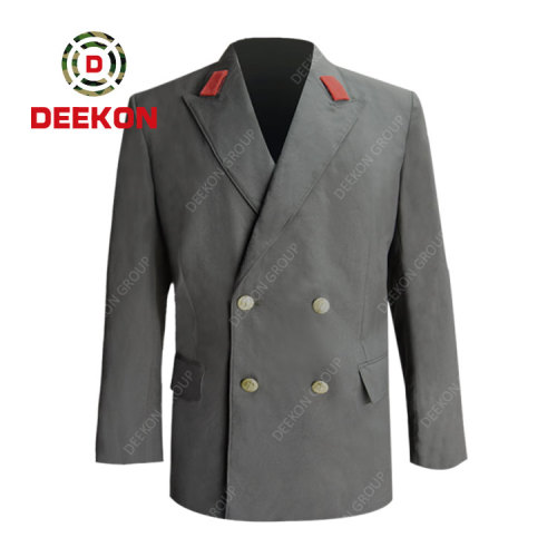 Angola New Style Military Ceremonial Uniform Custom Military Uniforms factory