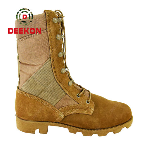 Cambodia Tactical Comfortable Outdoor Hiking Durable High Top Combat Military Tactical Boots