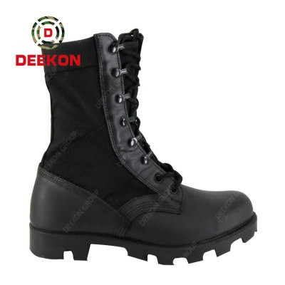 Thailand Black Winter Waterproof Army Tactical SWAT US Military Real Leather Boots