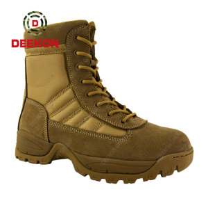 Thailand Men Tactical Desert Snow Ankle Combat Boots for Military
